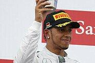 Podium - Formel 1 2014, Deutschland GP, Hockenheim, Bild: Mercedes AMG