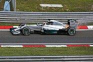 Feuer-Ausfall Hamilton - Formel 1 2014, Ungarn GP, Budapest, Bild: Sutton