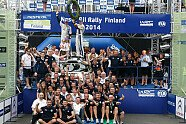 Tag 3 & Podium - WRC 2014, Rallye Finnland, Jyväskylä, Bild: Sutton