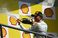 Podium - Formel 1 2014, Belgien GP, Spa-Francorchamps, Bild: Sutton