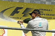 Podium - Formel 1 2014, Belgien GP, Spa-Francorchamps, Bild: Mercedes-Benz