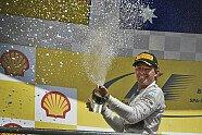 Podium - Formel 1 2014, Belgien GP, Spa-Francorchamps, Bild: Mercedes AMG
