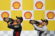 Podium - Formel 1 2014, Belgien GP, Spa-Francorchamps, Bild: Red Bull