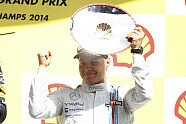 Podium - Formel 1 2014, Belgien GP, Spa-Francorchamps, Bild: Williams F1