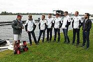 BMW-Piloten auf dem Flyboard - DTM 2014, Verschiedenes, Zandvoort, Zandvoort, Bild: BMW