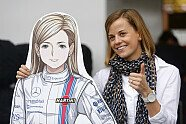 Susie Wolff in Bildern: Die 30 schönsten Fotos der Power-Frau - Formel E 2014, Verschiedenes, Bild: Sutton
