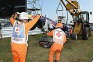 Ricciardo-Unfall - Formel 1 2014, Japan GP, Suzuka, Bild: Sutton