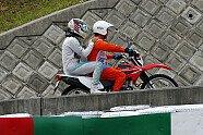 Hamilton-Unfall - Formel 1 2014, Japan GP, Suzuka, Bild: Sutton