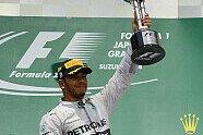 Podium - Formel 1 2014, Japan GP, Suzuka, Bild: Sutton