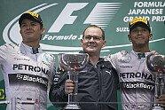 Podium - Formel 1 2014, Japan GP, Suzuka, Bild: Mercedes AMG