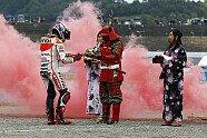So feierte Marquez seinen WM-Titel - MotoGP 2014, Japan GP, Motegi, Bild: Milagro