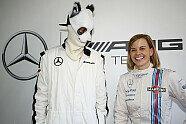 Susie Wolff in Bildern: Die 30 schönsten Fotos der Power-Frau - Formel E 2014, Verschiedenes, Bild: Mercedes-Benz