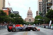 Red Bull-Showrun in Austin - Formel 1 2014, Verschiedenes, US GP, Austin, Bild: Sutton