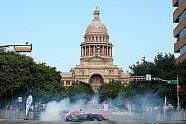 Red Bull-Showrun in Austin - Formel 1 2014, Verschiedenes, US GP, Austin, Bild: Red Bull Racing