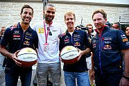 VIPs in Austin - Formel 1 2014, US GP, Austin, Bild: Red Bull