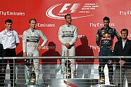 Podium - Formel 1 2014, US GP, Austin, Bild: Sutton