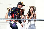 Podium - Formel 1 2014, US GP, Austin, Bild: Red Bull