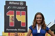 Brasilien GP: Zeitreise mit den hübschesten Grid Girls aus Sao Paulo - Formel 1 2014, Verschiedenes, Brasilien GP, São Paulo, Bild: Sutton
