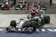 Sonntag - Formel 1 2014, Abu Dhabi GP, Abu Dhabi, Bild: Mercedes AMG