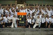 Bilder des Jahres: Jubel - Formel 1 2014, Verschiedenes, Bild: Williams F1