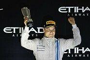 Podium - Formel 1 2014, Abu Dhabi GP, Abu Dhabi, Bild: Williams F1