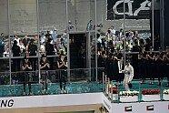 Podium - Formel 1 2014, Abu Dhabi GP, Abu Dhabi, Bild: Sutton