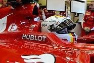 Vettels Helme im Wandel der Zeit - Formel 1 2015, Verschiedenes, Bild: Ferrari
