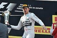 Podium - Formel 1 2015, Spanien GP, Barcelona, Bild: Sutton