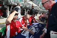 Autogrammstunde - 24 h von Le Mans 2015, 24 Stunden von Le Mans, Le Mans, Bild: Speedpictures