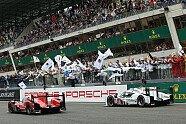 So feiert Hülkenberg den Sieg - 24 h von Le Mans 2015, 24 Stunden von Le Mans, Le Mans, Bild: Sutton