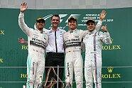 Podium - Formel 1 2015, Österreich GP, Spielberg, Bild: Mercedes-Benz