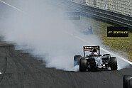 Hülkenberg-Unfall - Formel 1 2015, Ungarn GP, Budapest, Bild: Sutton