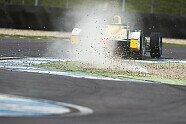 Testfahrten Donington Park - Formel E 2015, Testfahrten, Bild: Formula E