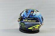 Valentino Rossis Special-Helm für Misano - MotoGP 2015, Verschiedenes, San Marino GP, Misano Adriatico, Bild: Yamaha