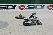 Kollision zwischen Aegerter und Rins - Moto2 2015, Verschiedenes, Bild: Tobias Linke