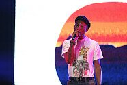 Pharrell Williams Konzert in Singapur - Formel 1 2015, Singapur GP, Singapur, Bild: Sutton