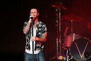 Maroon 5 Konzert in Singapur - Formel 1 2015, Singapur GP, Singapur, Bild: Sutton