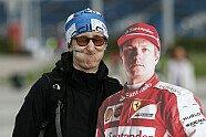 Fan-Quatsch mit Papp-Räikkönen - Formel 1 2015, Verschiedenes, Russland GP, Sochi, Bild: Sutton