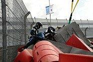 Sainz Jr.-Unfall - Formel 1 2015, Russland GP, Sochi, Bild: Sutton