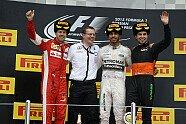 Podium - Formel 1 2015, Russland GP, Sochi, Bild: Ferrari