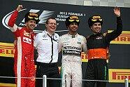 Podium - Formel 1 2015, Russland GP, Sochi, Bild: Mercedes-Benz