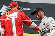 Podium - Formel 1 2015, Russland GP, Sochi, Bild: Sutton