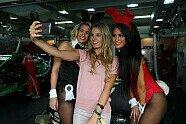 Doreen Seidel: Playboy-Bunny im Rennauto - Motorsport 2015, Verschiedenes, Bild: Audi