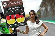 Brasilien GP: Zeitreise mit den hübschesten Grid Girls aus Sao Paulo - Formel 1 2015, Verschiedenes, Brasilien GP, São Paulo, Bild: Sutton