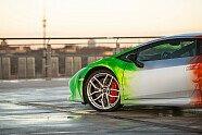Lamborghini Huracán im spektakulären Tricolore-Look - Auto 2016, Verschiedenes, Bild: PRINT TECH GmbH