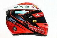 Fahrerhelme 2016 - Formel 1 2016, Australien GP, Melbourne, Bild: Sutton