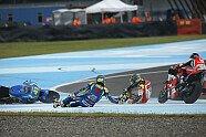 Sturz-Festival - MotoGP 2016, Argentinien GP, Termas de Río Hondo, Bild: Milagro