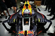 Aero Screen: Cockpitschutz von Red Bull - Formel 1 2016, Russland GP, Sochi, Bild: Sutton