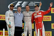 Podium - Formel 1 2016, Russland GP, Sochi, Bild: Ferrari