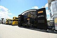Motorhomes in Barcelona - Formel 1 2016, Spanien GP, Barcelona, Bild: Sutton